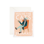Rifle Rifle CAT - You're The Cats Pajamas card