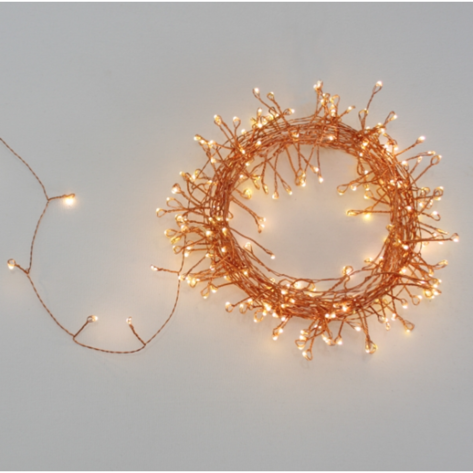 Light Style London Cluster Copper 15m Fairy Lights Indoor & outdoor use