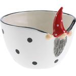 Urban Outline Bowl Peek-a-boo Santa ø16cm