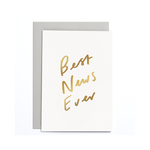 OLD ENGLISH CO. Best News Ever Small Card