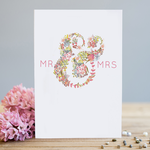 Louise Tiler Mr and Mrs Card