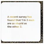 Brainbox Candy A Recent Survey card