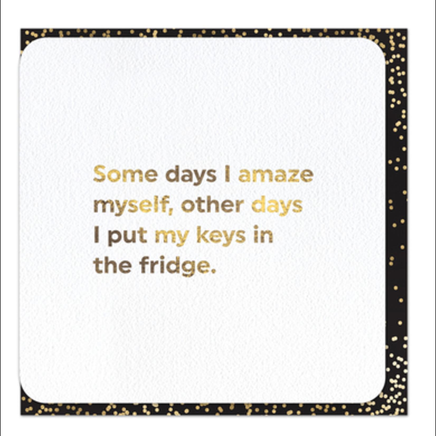 Brainbox Candy Amaze Myself card