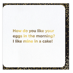 Brainbox Candy Eggs In The Morning card