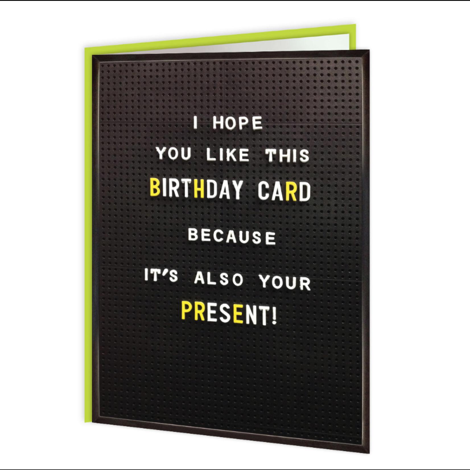 Brainbox Candy Birthday Card Present Funny Card