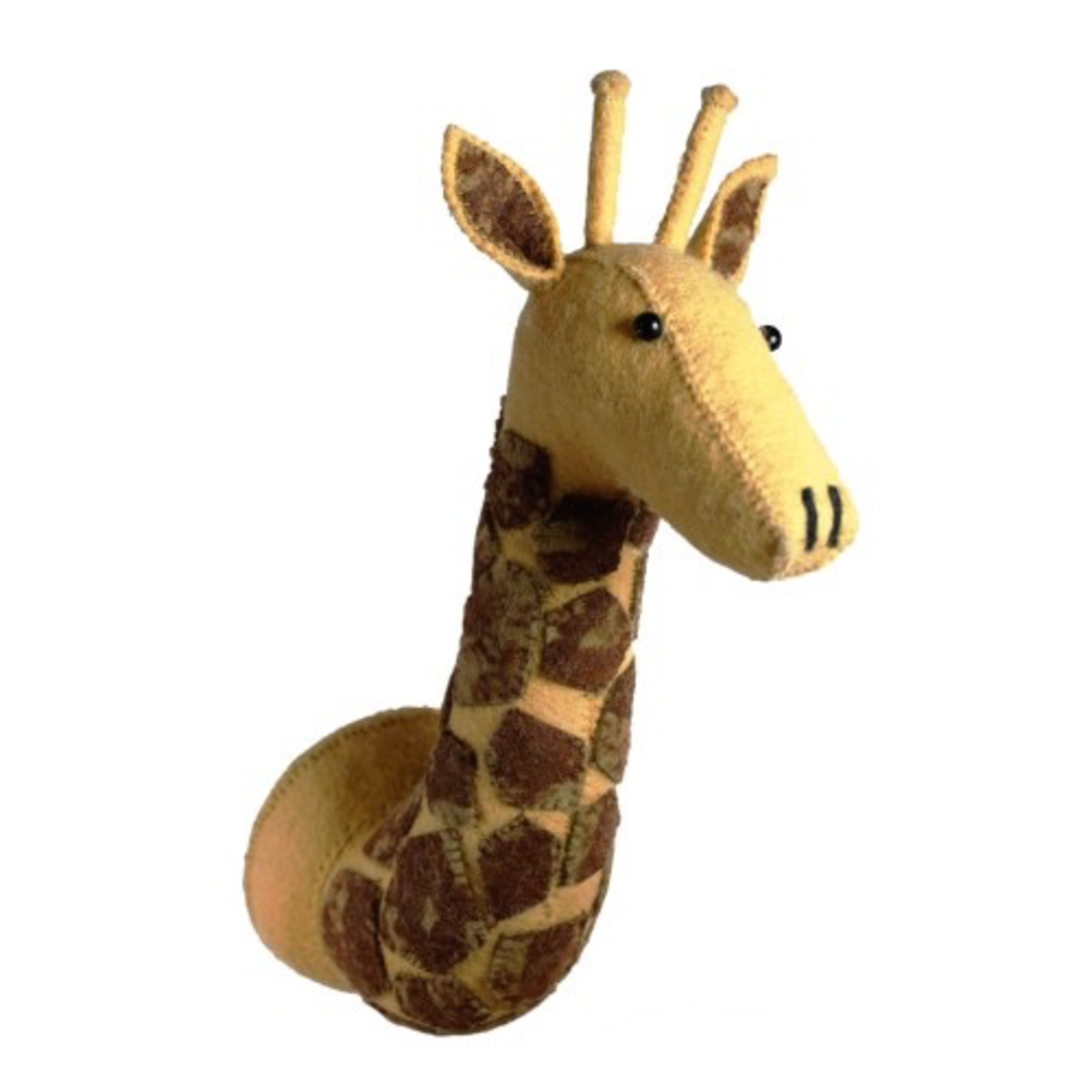 Fiona Walker Fiona Walker Tie Dye Patch Giraffe Head Original Large Size