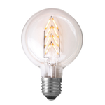 Nud LED Flat Exit 95mm E27 Chevron Bulb
