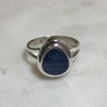 Maharaja Arts Palace Opal Teardrop Ring - SIZE Q
