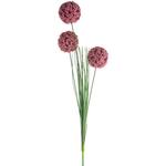 Grand Illusions Allium Spray Dark Pink 76cm