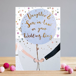 Louise Tiler SON DAUGHTER IN LAW WEDDING CARD