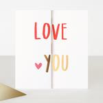 Caroline Gardner Love You Anniversary Folding Card