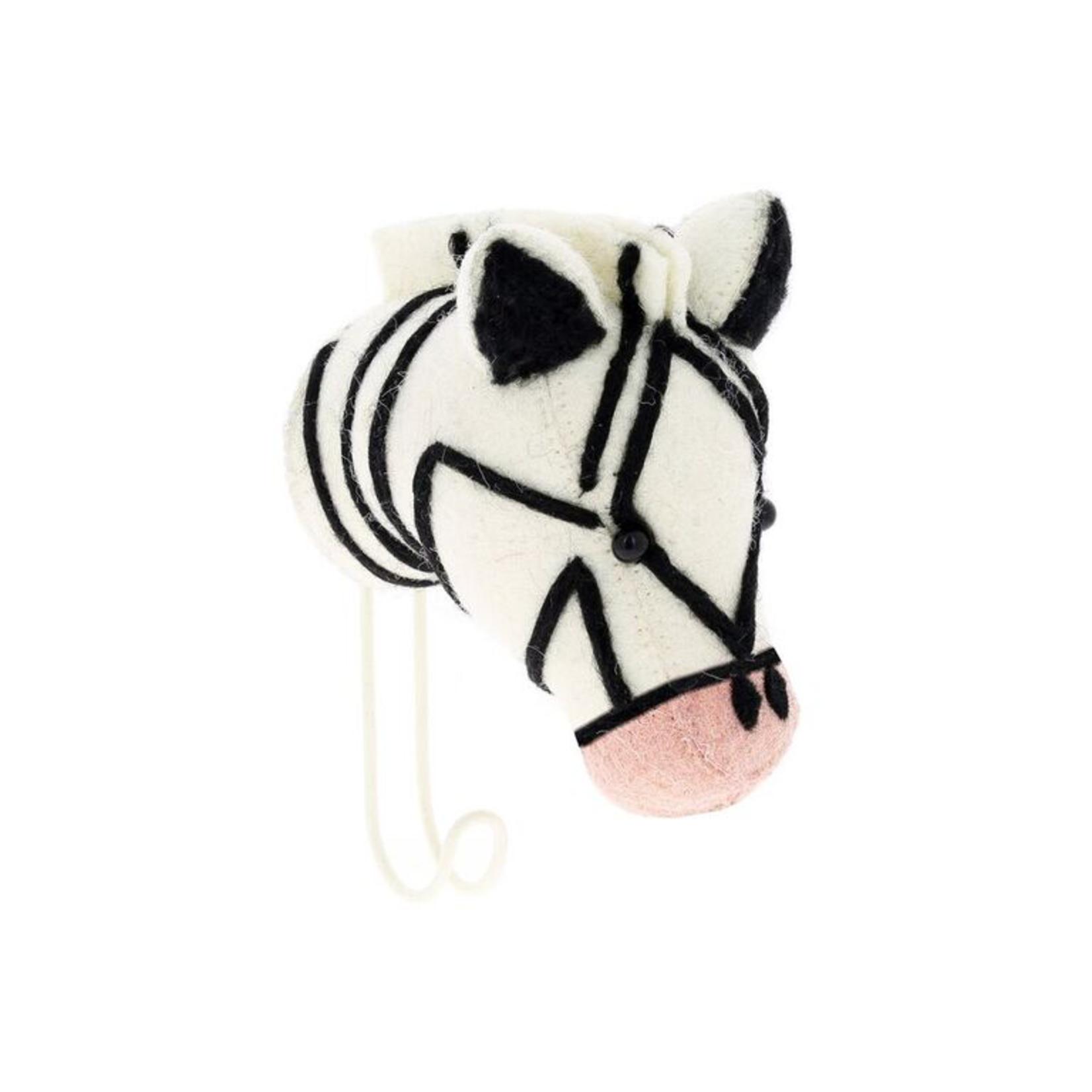 Fiona Walker Fiona Walker Large Hook New Pink Nose Zebra