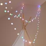 Lisa Angel Plug In LED Sherbert Multi-Coloured 7M String Lights