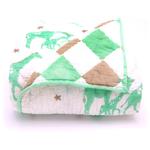 Berties Blankets Berties Blankets Reversible Quilt - green