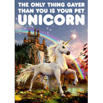 Dean Morris Your Pet Unicorn Card