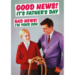 Dean Morris Good News It's Father's Day Card