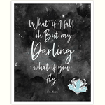 Homebird Alex Anderson Darling what if you fly Print
