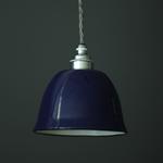 Nook MINIATURE BELL CLOCHE LAMP SHADE- MIDNIGHT BLUE