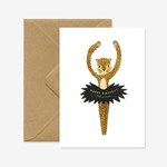 All The Ways To Say Little Princess Leopard Ballet Birthday Card