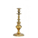 Light & Living Spoleto antique bronze candlestick holder 12x28cm