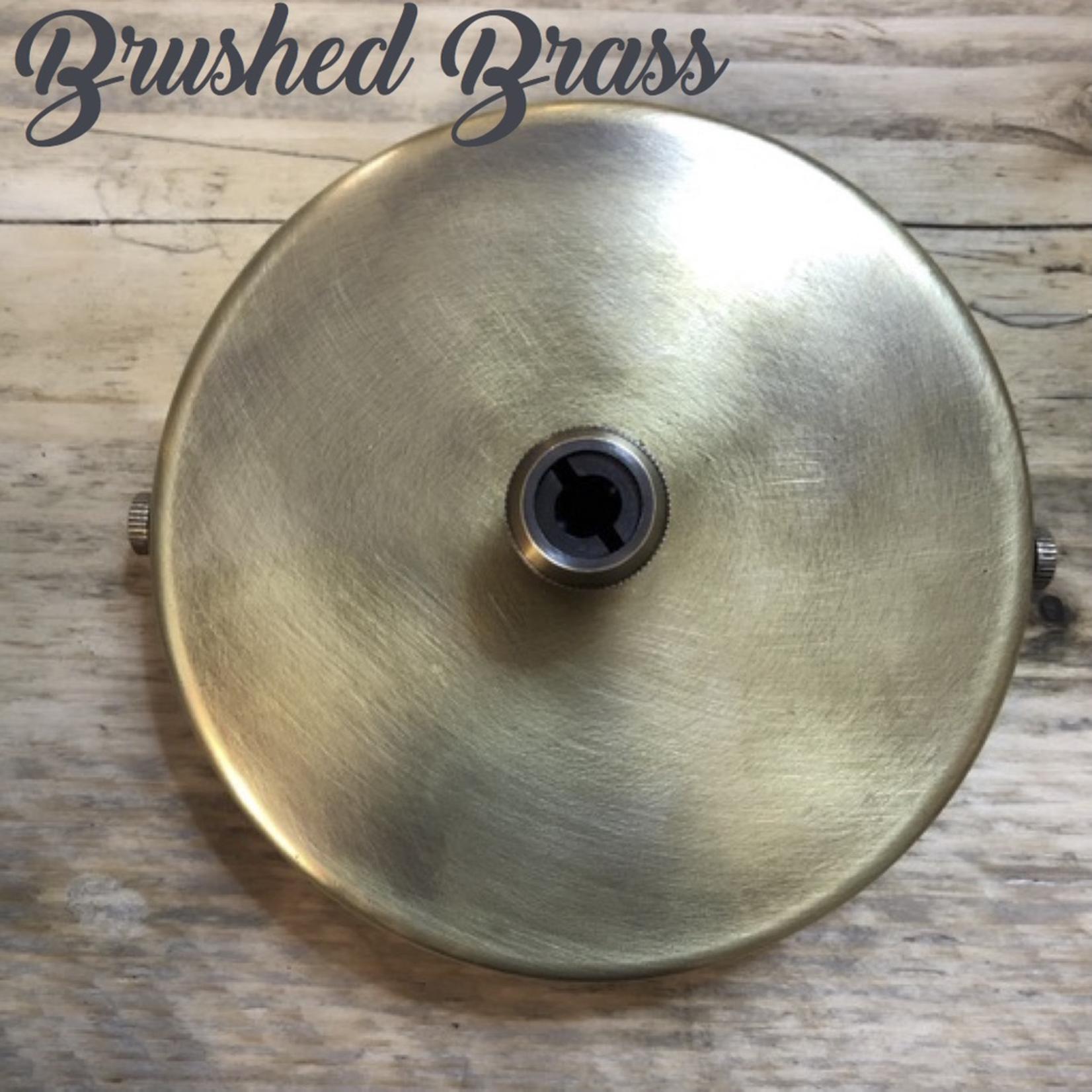 Homebird Brass Solid Rose 107mm W x 20mm