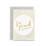 OLD ENGLISH CO. So Proud Small Card