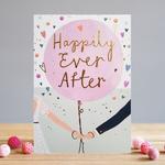 Louise Tiler Wedding Couple Card