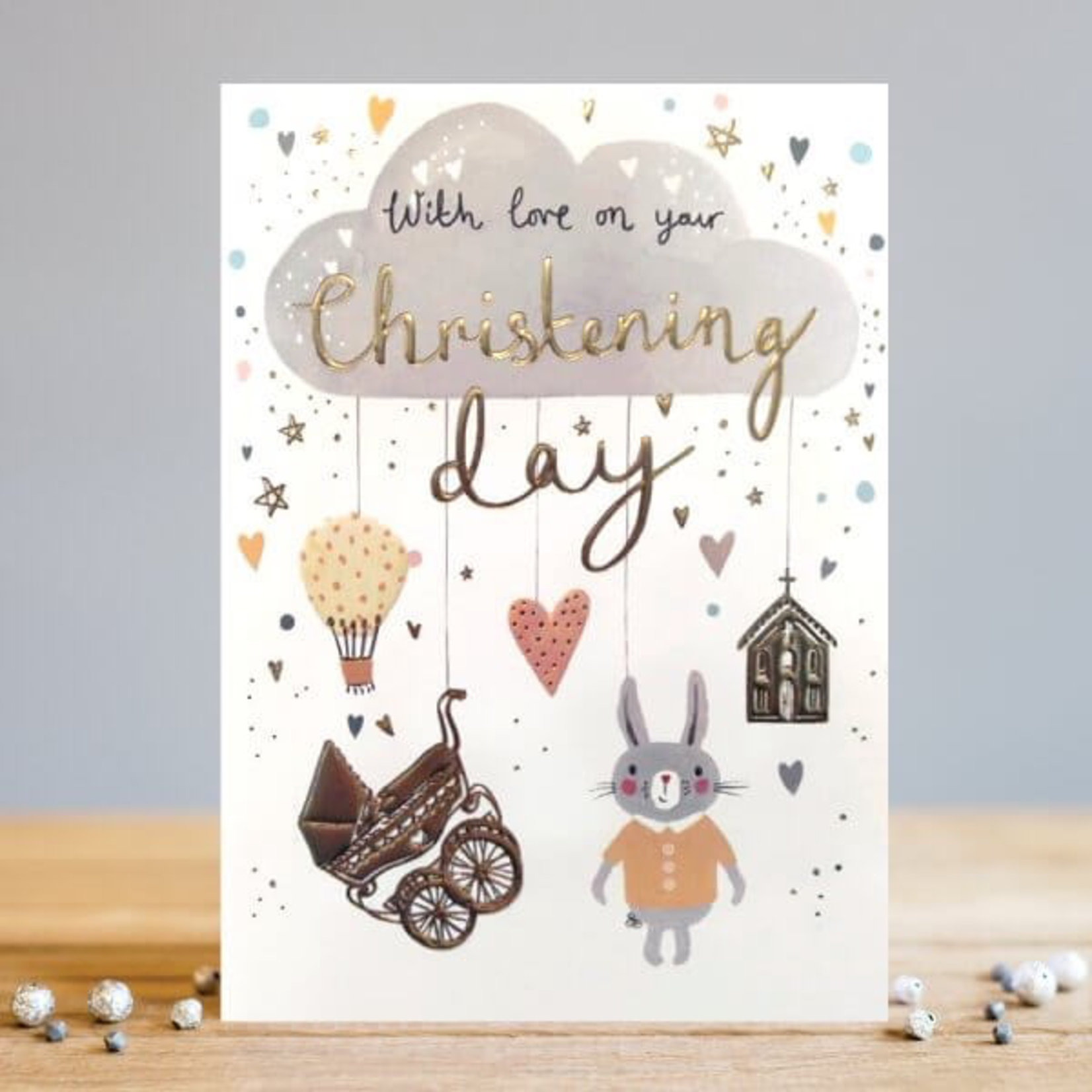 Louise Tiler Cloud Christening Card