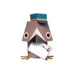 Mibo Pigeon Voyageur Cut Out Paper Animals