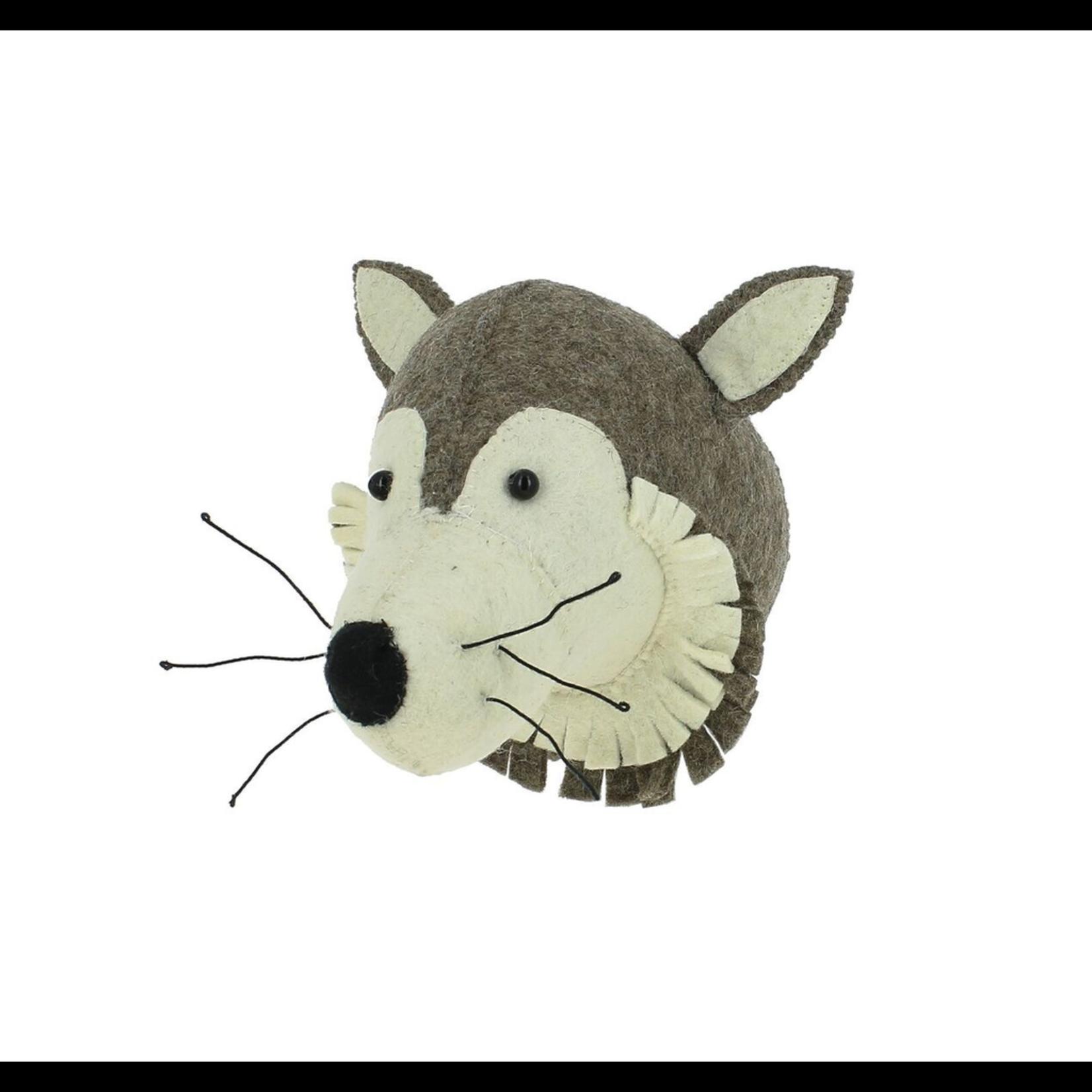 Fiona Walker Fiona Walker Mini Wolf Head
