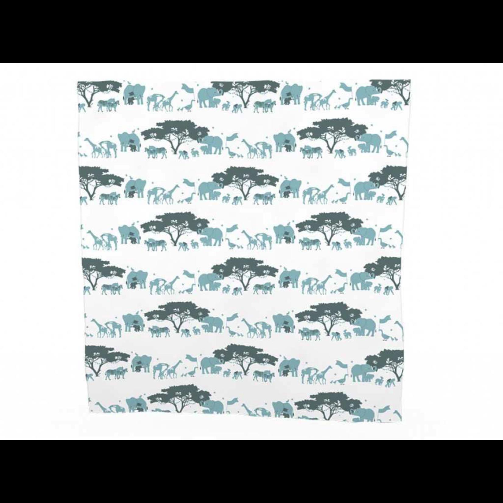 Berties Blankets Berties Blankets - swaddle Blanket cloth - blue