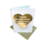 Brainbox Candy Mahoosive Thanks (Gold Foiled) Thank You Card
