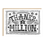 Jade Fisher Thanks a Million Card