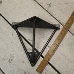 IRON RANGE Hairpin Style Triangle wall Shelf Bracket H180mm