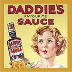 Wartime Britain & Heritage Coaster Single - Heinz (Daddie's Sauce)