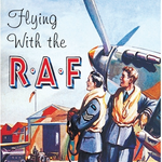 Wartime Britain & Heritage Coaster Single - Flying With RAF