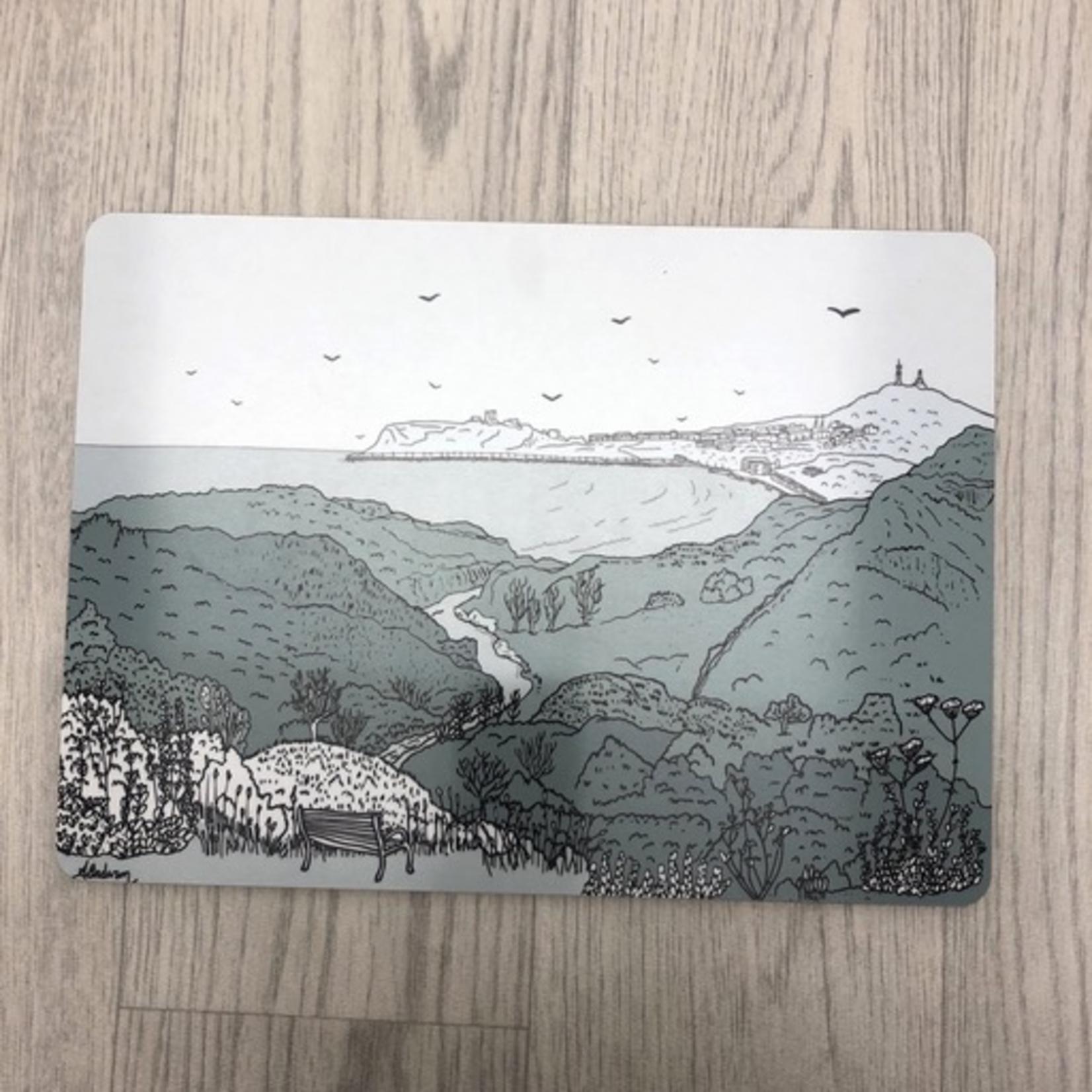Homebird Placemat Scalby Mills - Alex Anderson Scarborough Single Tableware