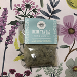 Wild Olive Wild Olive Mint & White Tea Bath Tea Bag