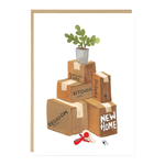 Jade Fisher New Home Moving Boxes Card