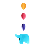 Noted Paper Mobile Kit Elephant
