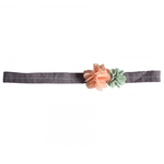Maileg Maileg Hair Band, Fluff Flowers pastel pink and blue
