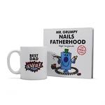 Half Moon Bay Giftset Book & Mug - Mr Grumpy - Nails Fatherhood