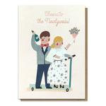 Stormy Knight Newlyweds Wedding Card