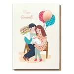 Stormy Knight New Baby Arrival Card
