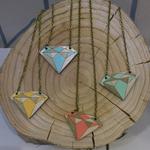 Twiggd Diamond Necklace - green