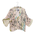 ONE HUNDRED STARS Paris Streets and Monuments Print Kimono