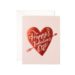 Rifle Rifle Happy Valentines Day Heart Card