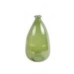 Light & Living FITORIA Green Glass Vase 21x36