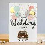 Louise Tiler Happy Wedding Day Car Card