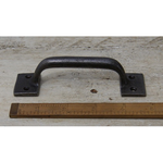 IRON RANGE Rectangular End Waxed Iron Sash D Handle